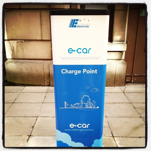 20120417 E-Car charging point