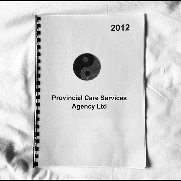 20120709 Community care log book