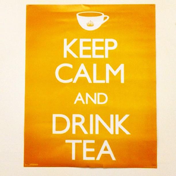 20121009 Keep calm and drink tea