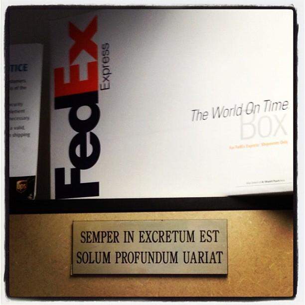 20121019 Semper in excretum