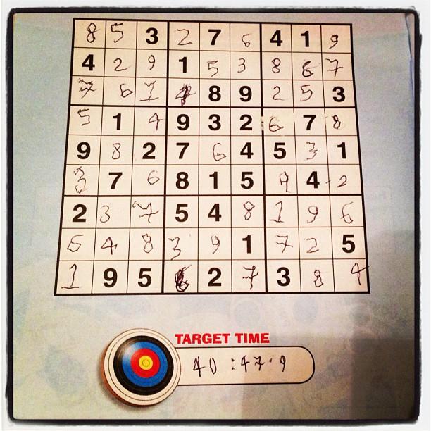 20121022 Occupational sudoku