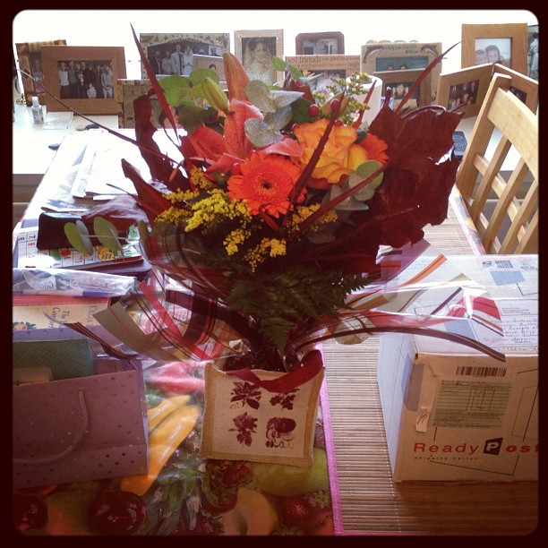 20121103 Birthday flowers