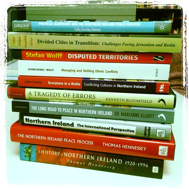 20121108 Peace process reading list