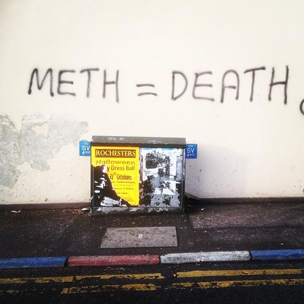 20121130 Meth equals death