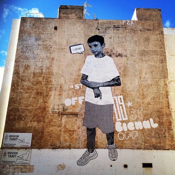 20121215 Lanzarote mural