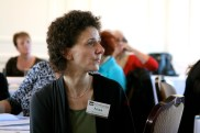 """Nora Murad, Women's Resource & Development Agency hosted seminar, """"Women: Dealing with the Past; Shared Learning Workshop"""", Europa Hotel, Belfast."""