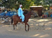Horseback. Kaduna, Nigeria.