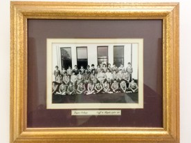 Staff and Pupils 1981-82. Lagan College (c) Allan LEONARD @MrUlster