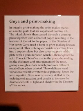 Goya and print-making. Francisco Goya (1746-1828), The Disasters of War.