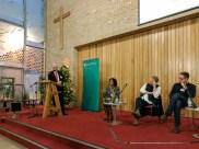Panel discussion: Paul CLARK (MC), Lisa ANDERSON, Colin DAVIDSON, and Niall KERR (c) Allan LEONARD @MrUlster`