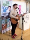 Scott MACAULAY. Book launch of Little House on a Peace Line (Tony MACAULAY) (c) Allan LEONARD @MrUlster
