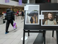 Journey photography exhibition. Central Station, Belfast, Northern Ireland. (c) Allan LEONARD @MrUlster