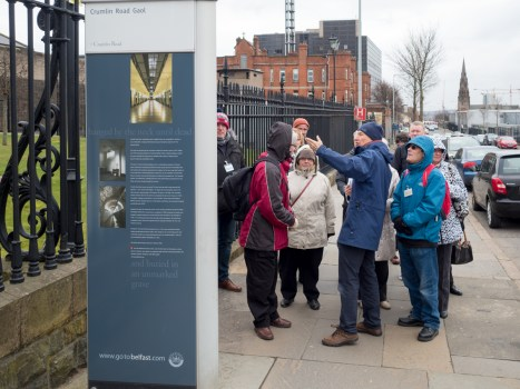 David FLINN (Belfast Civic Trust). North Belfast Cultural Corridor, Imagine Belfast Festival. Belfast, Northern Ireland.