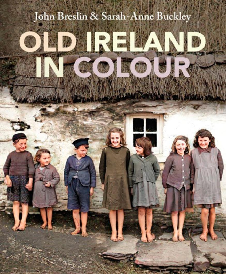 book cover old ireland in colour