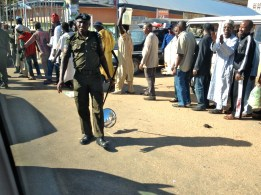 Security Check. Kaduna, Nigeria.