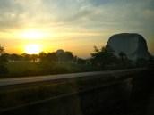Abuja Sunrise. Zuma Rock, Abuja, Nigeria.