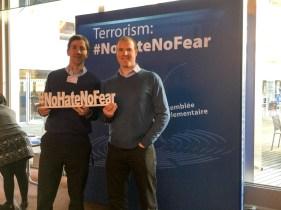Allan LEONARD and Paul BRAITHWAITE #NoHateNoFear