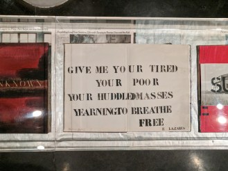 Give me your tired your poor your huddled masses yearning to breathe free.
