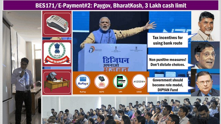 BES171/E-Payment #2: Budget Tax incentives, Lucky Grahak, Paygov, NTRP, DipYAN,