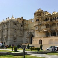 Photoblog: Udaipur's City Palace in a wheelchair