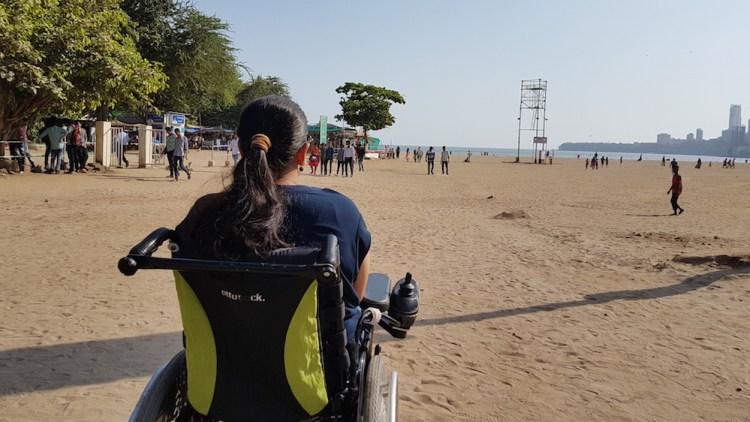 Girgaum Chowpatty - Things to do in Mumbai on a wheelchair