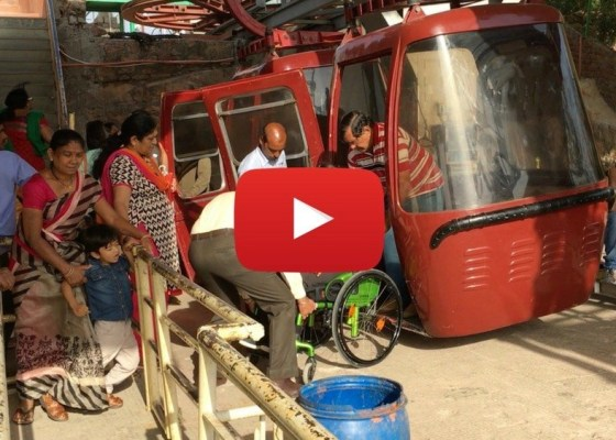 Udaipur-ropeway-on-wheelchair