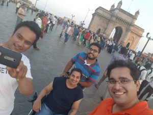 Gateway of India Selfie