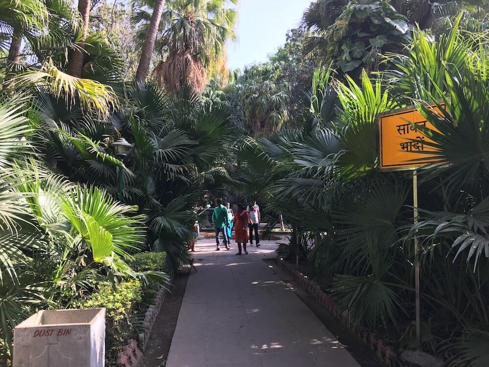 Way to Saavan Bhado Fountain