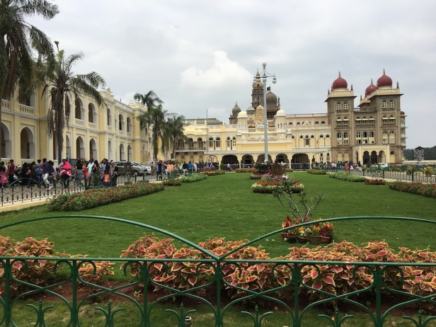 Periphery of Mysore Palace