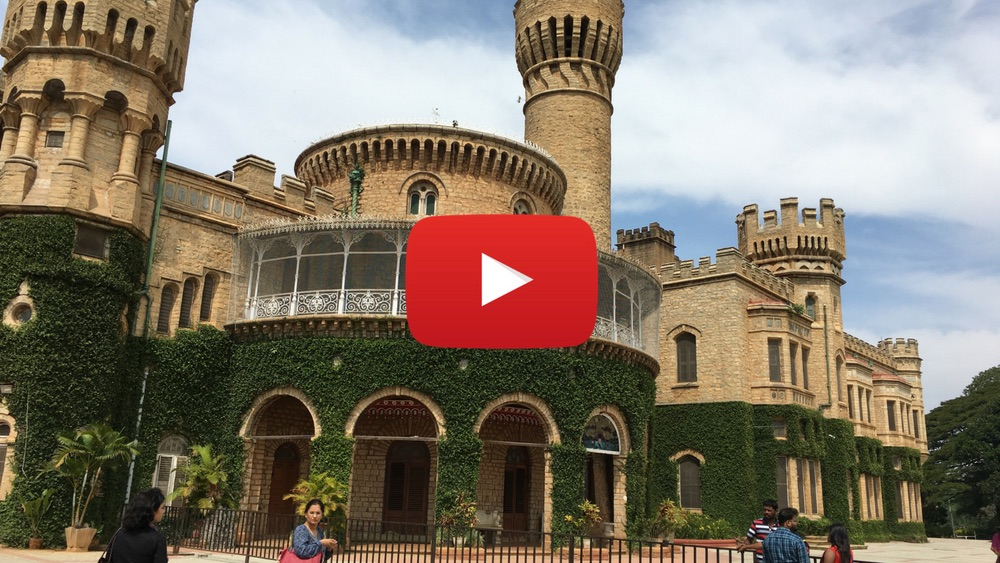 Video: Bangalore Palace on wheelchair