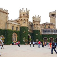 Photoblog: Bangalore Palace in my wheelchair