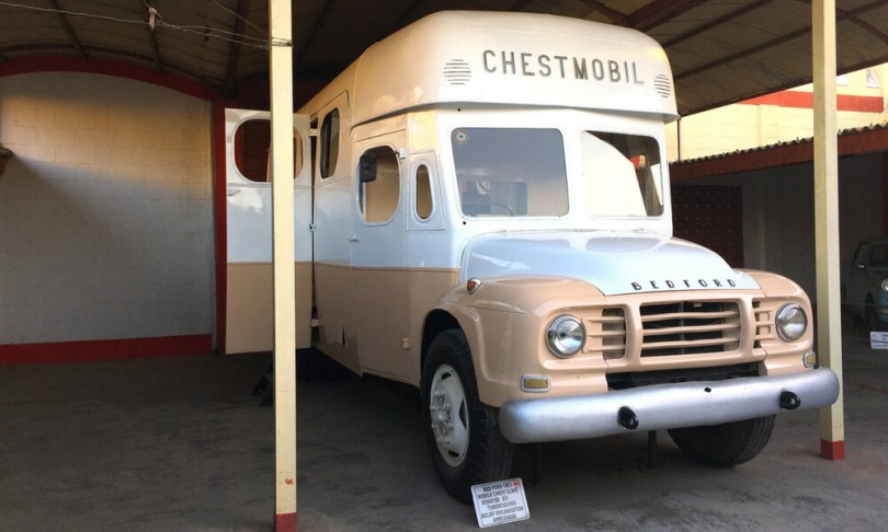 Bed Ford, a 1963 model. A mobile chest clinic aka ambulance