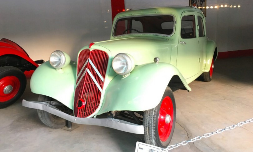 Citroen Traction Avant, a 1946 model from France