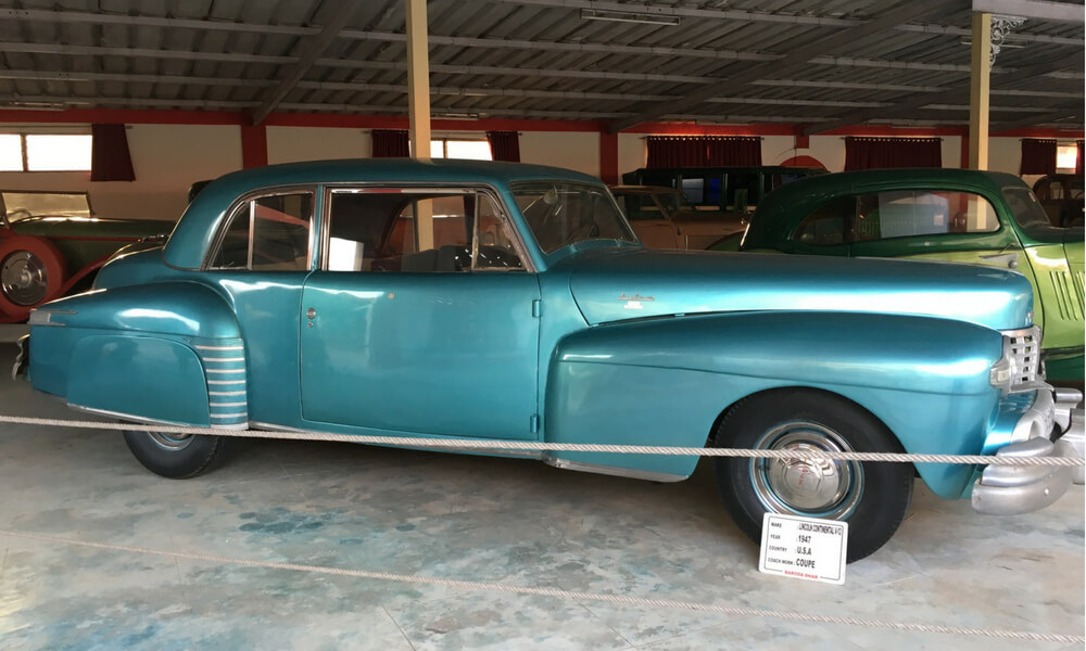 Lincoln Continental, a 1947 model from USA