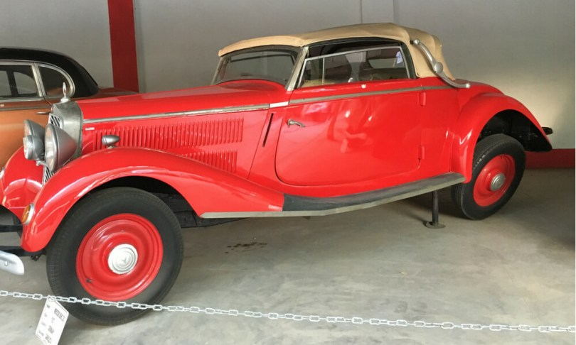 Mercedes Benz, a 1937 model from Germany