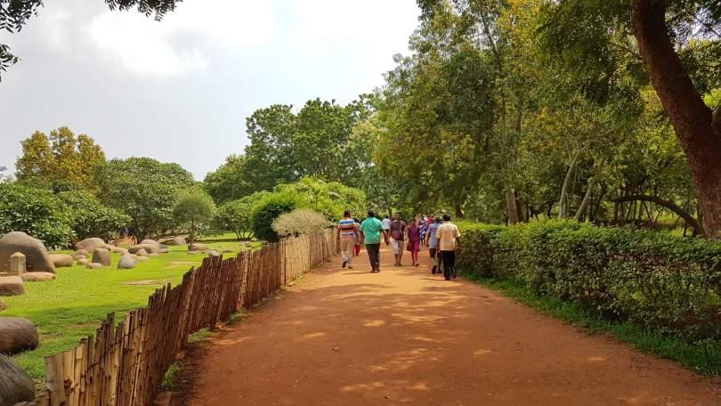 Pathway inside Auroville