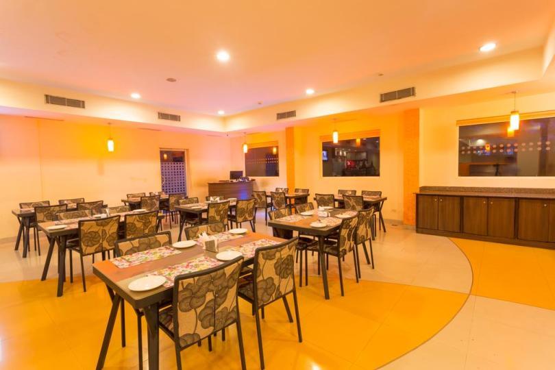 Restaurant inside Ginger hotel, Pondicherry