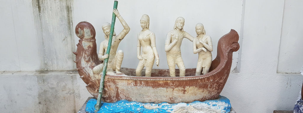 Sculptures at Pondicherry museum