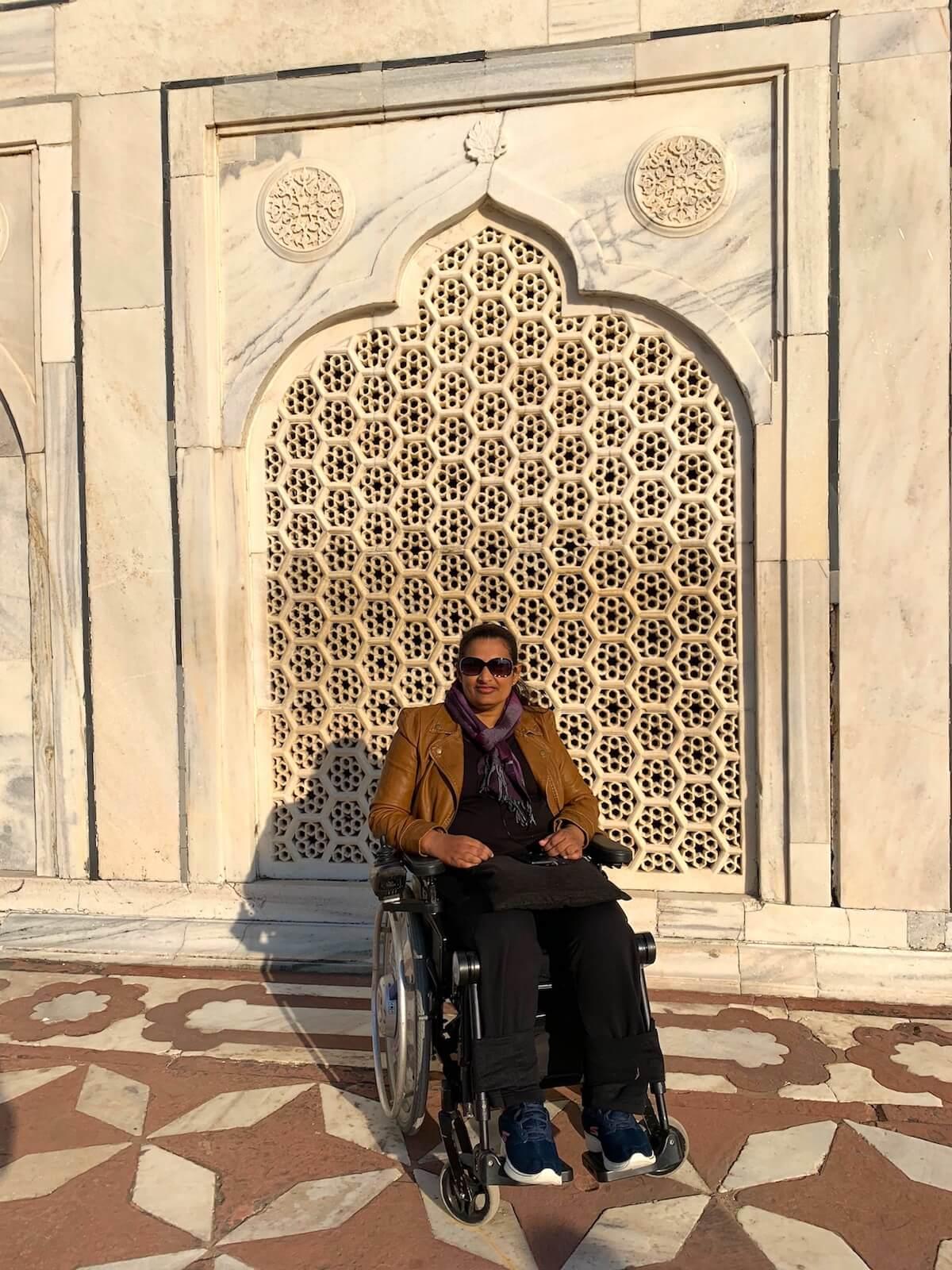 Jali-work on Taj Mahal windows provided ventilation