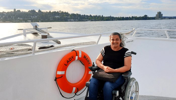 Accessible Cruise on Lake Washington, Seattle