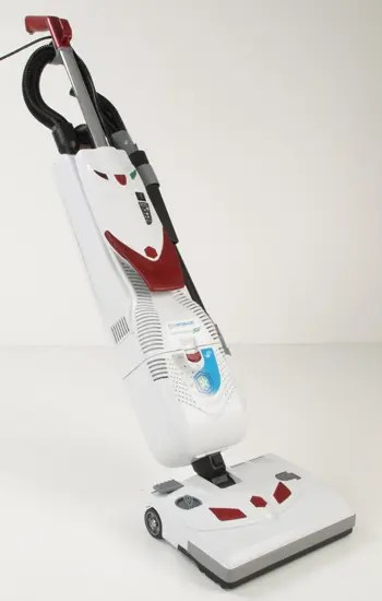 HEALTHCARE PRO LINDHAUS UPRIGHT VAC WITH CARPET HEAD ATTACHED