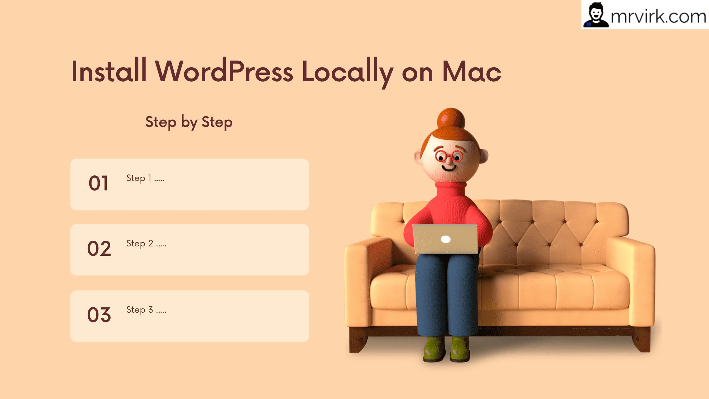 How to Install WordPress on Mac using MAMP