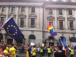 Pride and Euro flag