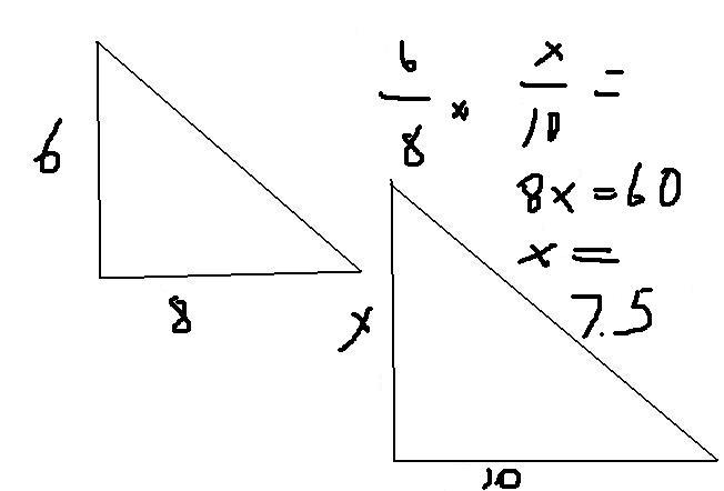 The 3 trigonometric ratios: