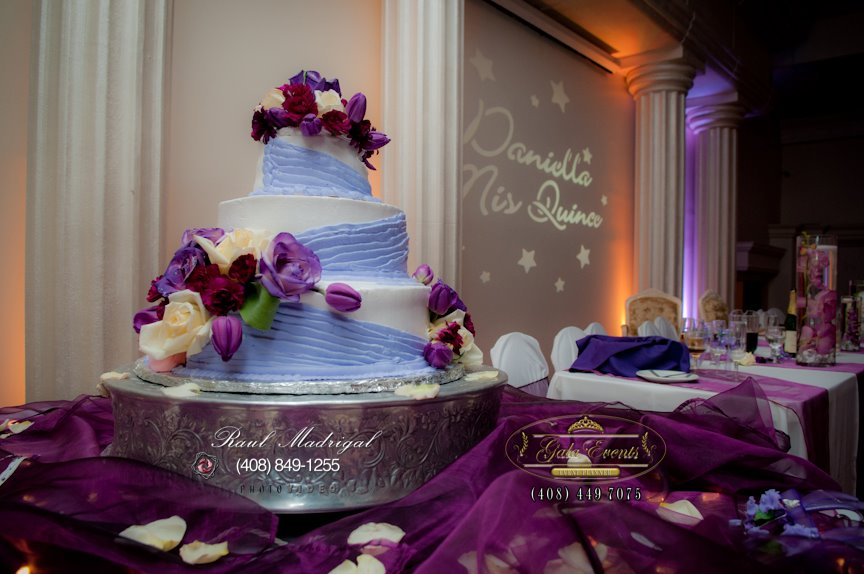 purple chair sashes for weddings how to make covers a wedding daniella's quinceañera 4.15.12 | {m&r} and events