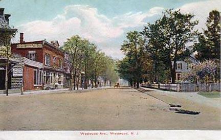 Westwood Avenue - circa 1910.
