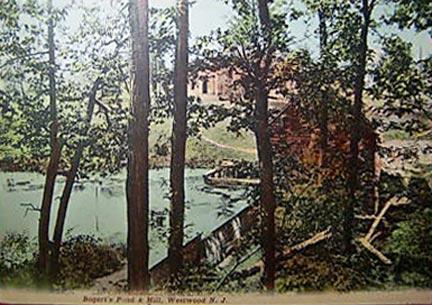 Bogert's Pond & Mill - 1911.