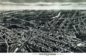 Westwood map - 1924.