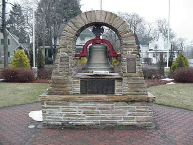 Photo of Fireman's Memorial in the Fireman's Park in Westwood.