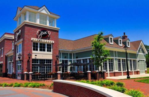 Opus 9 restaurant in new town